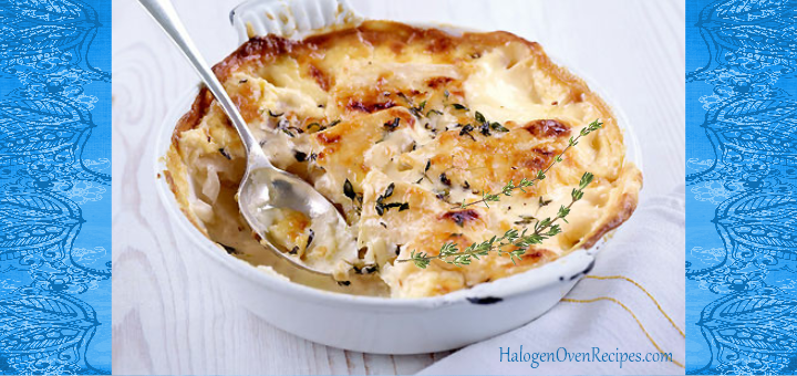 light herby pommes dauphinoise halogen oven recipes