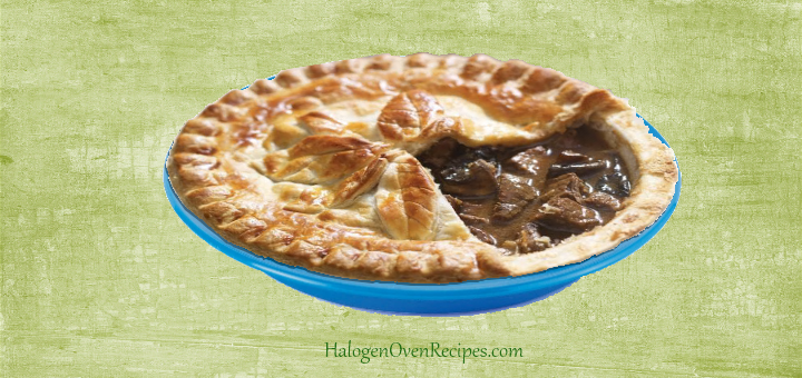 A Quick Homemade Steak Pie - Halogen Oven Recipes