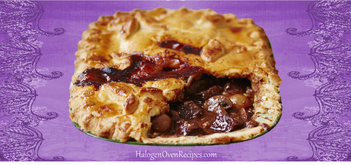 Steak and Oyster Pie - Halogen Oven Recipes